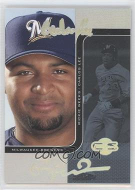 2006 Topps Co-Signers - Changing Faces - HyperSilver Blue #62-A - Carlos Lee, Rickie Weeks /10