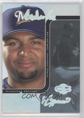 2006 Topps Co-Signers - Changing Faces - HyperSilver Blue #62-C - Carlos Lee, Chris Capuano /10