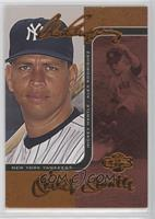 Alex Rodriguez, Mickey Mantle [Noted] #/150