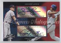 Andruw Jones, Chipper Jones
