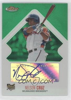 2006 Topps Finest - [Base] - Green Refractor #153 - Rookie Autograph - Nelson Cruz /199