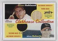 Brooks Robinson, Brian Roberts /57