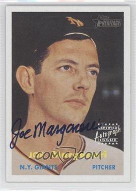 2006 Topps Heritage - Real One Autographs #ROA-JM - Joe Martinez