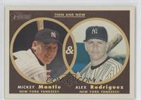 Mickey Mantle, Alex Rodriguez