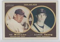 Michael Young, Ted Williams
