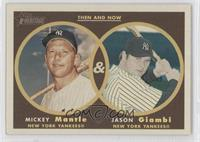 Mickey Mantle, Jason Giambi
