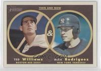 Alex Rodriguez, Ted Williams