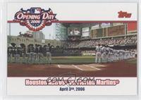 Houston Astros vs. Florida Marlins