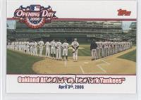 Oakland Athletics vs. New York Yankees