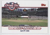 Texas Rangers vs. Boston Red Sox