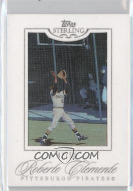 2006 Topps Sterling - [Base] - White Suede #65 - Roberto Clemente /50