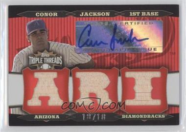 2006 Topps Triple Threads - Relic Autographs #TTRA-30 - Conor Jackson /18