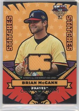 2006 Topps Updates & Highlights - All-Star Stitches #AS-BM - Brian McCann