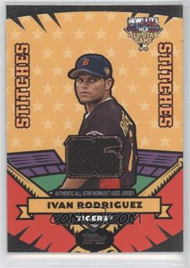 2006 Topps Updates & Highlights - All-Star Stitches #AS-IR - Ivan Rodriguez