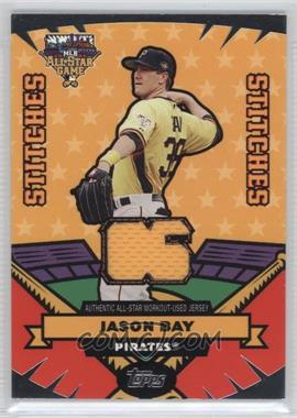 2006 Topps Updates & Highlights - All-Star Stitches #AS-JB - Jason Bay