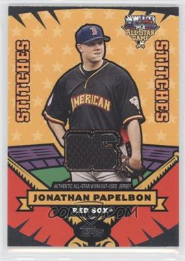 2006 Topps Updates & Highlights - All-Star Stitches #AS-JP - Jonathan Papelbon