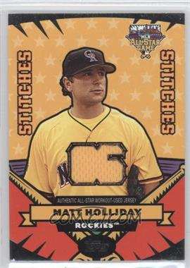 2006 Topps Updates & Highlights - All-Star Stitches #AS-MH - Matt Holliday