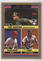 Carl Crawford, Chone Figgins, Ichiro Suzuki /2006