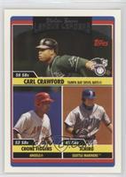 Carl Crawford, Chone Figgins, Ichiro Suzuki, Chad Fillinger