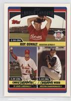 League Leaders - Roy Oswalt, Brandon Webb, Chris Carpenter