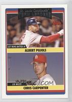 Team Leaders - Albert Pujols, Chris Carpenter