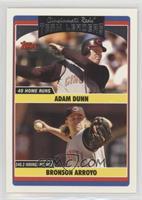 Adam Dunn, Bronson Arroyo