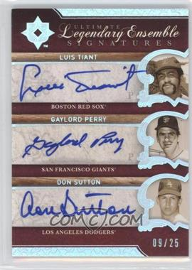 2006 Ultimate Collection - [???] #LES-PST - Luis Tiant, Don Sutton, Gaylord Perry, Luca Tinti /25