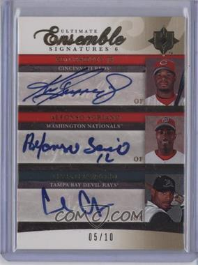 2006 Ultimate Collection - [???] #UES6-3 - Ken Griffey Jr., Alfonso Soriano, Carl Crawford, Coco Crisp, Scott Podsednik, Alex Rios /10