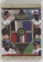 Mark Teixeira, Jim Thome, David Ortiz, Carlos Delgado #/15