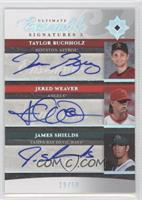 Taylor Buchholz, James Shields, Jamie Shields, Jered Weaver /50