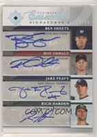 Ben Sheets, Roy Oswalt, Jake Peavy, Rich harden #/25