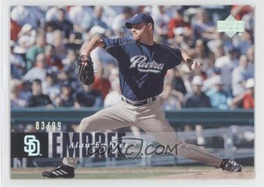 2006 Upper Deck - [Base] - Silver Spectrum #768 - Alan Embree /99