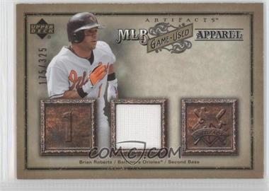 2006 Upper Deck Artifacts - MLB Apparel #MLB-BR - Brian Roberts /325