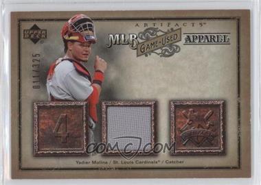 online store 10d9d 5f5c9 2006 Upper Deck Artifacts - MLB Apparel #MLB-YM - Yadier ...