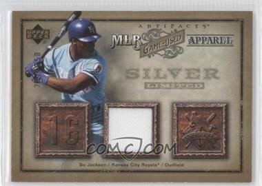 2006 Upper Deck Artifacts - MLB Game-Used Apparel - Silver #MLB-80 - Bo Jackson /250