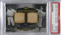 Joe DiMaggio, Babe Ruth /5 [PSA 10 GEM MT]