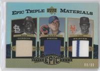 Bob Gibson, Mark Prior, Tom Seaver /99