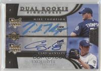 Mike Thompson, Clay Hensley #/30