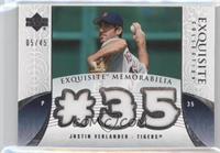 Justin Verlander /45