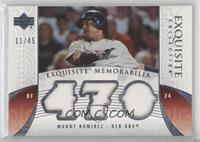 Manny Ramirez #/45