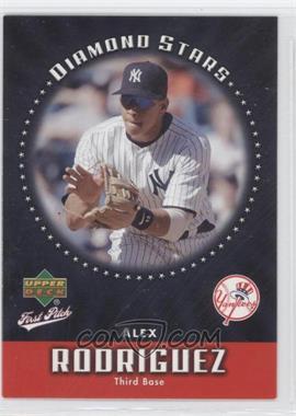 2006 Upper Deck First Pitch - Diamond Stars #DS-22 - Alex Rodriguez