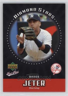 2006 Upper Deck First Pitch - Diamond Stars #DS-23 - Derek Jeter