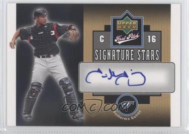 2006 Upper Deck First Pitch - Signature Stars #SS-GQ - Guillermo Quiroz