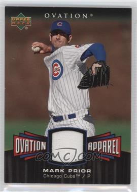 2006 Upper Deck Ovation - Ovation Apparel #OA-MP - Mark Prior