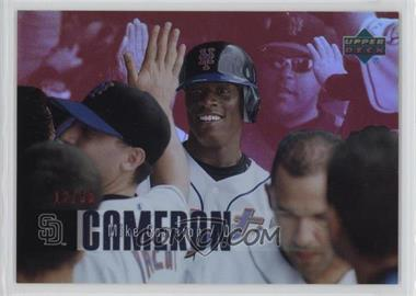 2006 Upper Deck Special F/X - [Base] - Red #296 - Mike Cameron /50