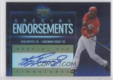 2006 Upper Deck Special F/X - Special Endorsements #SE-KG - Ken Griffey Jr.