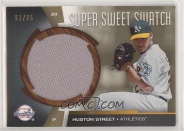 2006 Upper Deck Sweet Spot - Super Sweet Swatch - Gold #SW-ST - Huston Street /75 [EXtoNM]