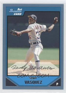 2007 Bowman - Prospects - Blue #BP105 - Sendy Vasquez /500