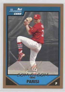 2007 Bowman - Prospects - Gold #BP102 - Mike Parisi
