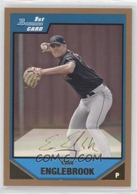 2007 Bowman - Prospects - Gold #BP104 - Evan Englebrook
